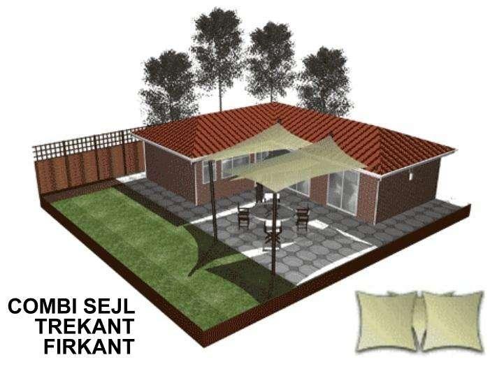 Solsejl 3D forslag Parasol